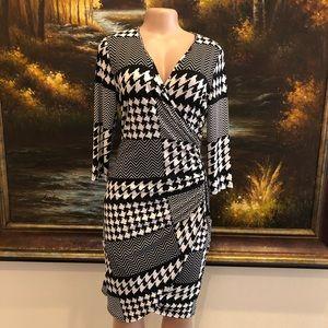 Frank Lyman Long Sleeve Body Con Dress Size 10